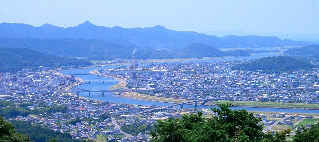 自然豊かな薩摩川内市